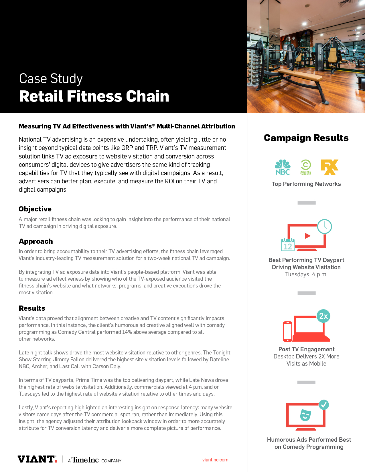 Case Study: Retail Fitness Chain